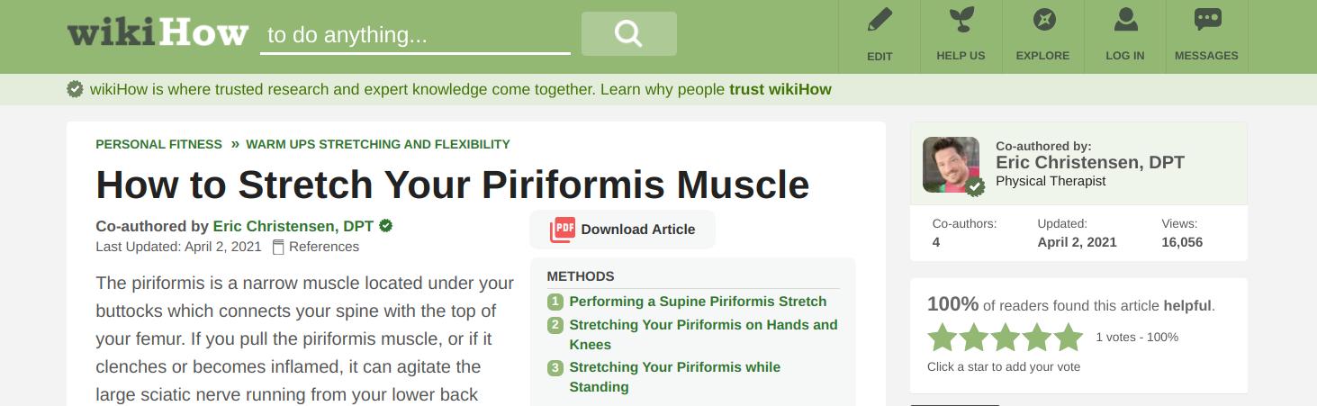 wikiHow-piriformis